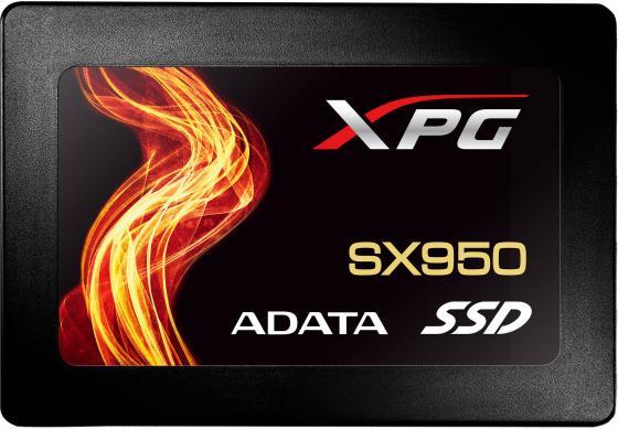 Твердотельный накопитель SSD 2.5 240GB A-Data SX950 Read 560Mb/s Write 520Mb/s SATAIII ASX950SS-240GM-C накопитель ssd a data adata ultimate su800 512gb asu800ss 512gt c