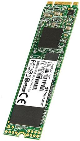 Твердотельный накопитель SSD M.2 480Gb Transcend MTS820 Read 560Mb/s Write 520mb/s SATAIII TS480GMTS820S накопитель ssd transcend ts480gssd220s ts480gssd220s