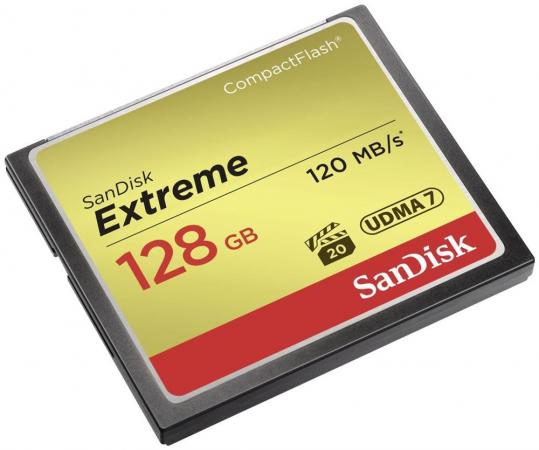 Карта памяти Compact Flash Card 128Gb SanDisk SDCFXSB-128G-G46
