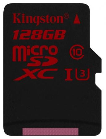 Карта памяти Micro SDXC 128GB Class 10 Kingston SDCA3/128GBSP micro securedigital 128gb kingston sdxc class 10 sdc10g2 128gbsp
