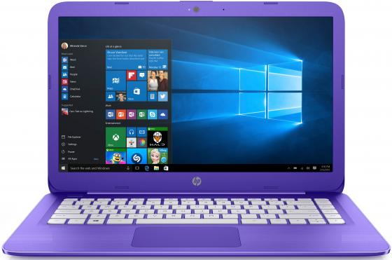 Ноутбук HP Stream 14-ax012ur 14 1366x768 Intel Celeron-N3060 32 Gb 2Gb Intel HD Graphics 400 фиолетовый Windows 10 Home 2EQ29EA ноутбук hp stream 14 ax012ur 14 intel celeron n3060 1 6ггц 2гб 32гб ssd intel hd graphics 400 windows 10 2eq29ea фиолетовый