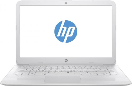Ноутбук HP Stream 14-ax013ur 14 1366x768 Intel Celeron-N3060 32 Gb 2Gb Intel HD Graphics 400 белый Windows 10 Home 2EQ30EA ноутбук hp stream 14 ax005ur