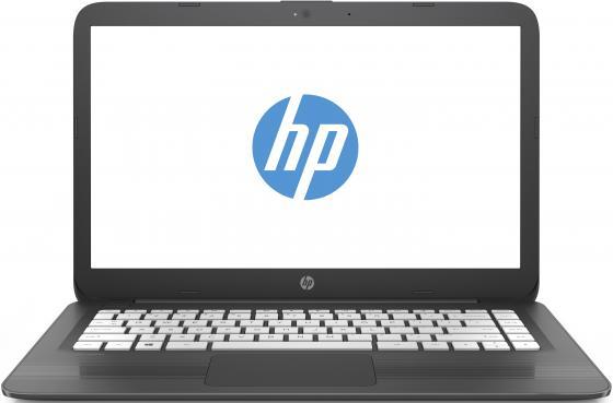Ноутбук HP 14-ax014ur 14 1366x768 Intel Celeron-N3060 32 Gb 2Gb Intel HD Graphics 400 серый Windows 10 Home 2EQ31EA nokotion original 773370 601 773370 001 laptop motherboard for hp envy 17 j01 17 j hm87 840m 2gb graphics memory mainboard
