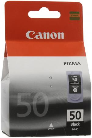 Картридж Canon PG-50 для Pixma MP-450 150 170 черный картридж canon pg 40 черный pixma mp450 mp150 mp170 ip1600 ip2200 ip6210d 0615b025