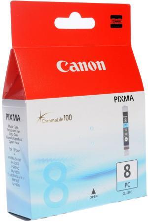 Картридж Canon CLI-8PC для Pixma iP6600D голубой фото картридж t2 ic ccli 8pc для canon pixma ip6600d 6700d pro9000 голубой 360стр