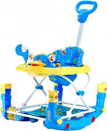 Ходунки 3-в-1 Everflo Утенок (синий) ходунки