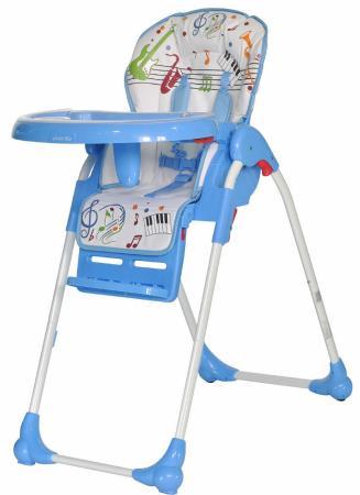 Стульчик для кормления Everflo Quartet (blue) стульчик для кормления sweet baby couple amethyst