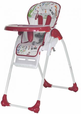Стульчик для кормления Everflo Quartet (red) стульчик для кормления safety1st timba with tray and cushion red lines