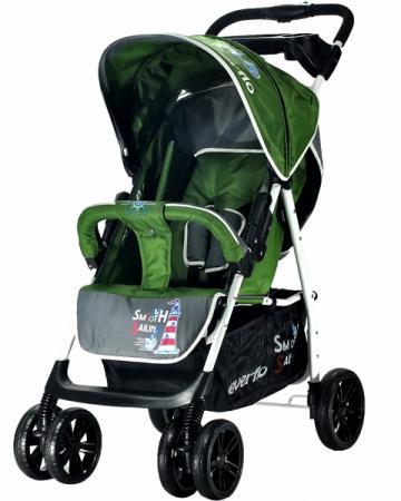 Прогулочная коляска Everflo Strong Capitan E-230 (green) коляска прогулочная everflo сruise e 550 green