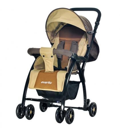 Прогулочная коляска Everflo Strong Cricket (brown) прогулочная коляска vikalex ravella brown