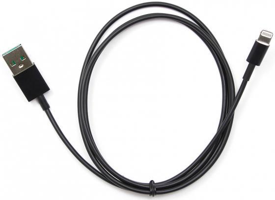 Кабель Lightning 1м Cablexpert круглый черный CC-USB-AP2MBP кабель usb 2 0 cablexpert am lightning 8p 1м розовый металлик