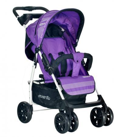 Фото - Прогулочная коляска Everflo Luxe (purple) коляска прогулочная everflo safari grey e 230 luxe