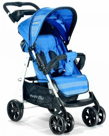 Прогулочная коляска Everflo Luxe E-230 (blue) коляска everflo cruise blue e 550 пп100004172