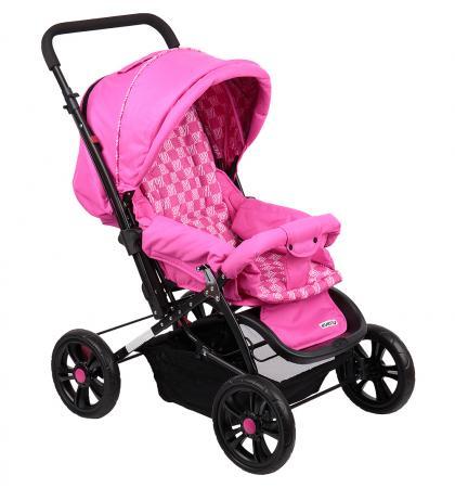 Прогулочная коляска Everflo E-400 Luxe (fuchsia/розовый) коляска everflo e 850 бежевая