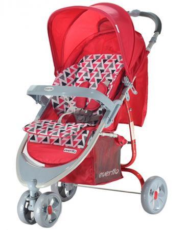 Фото - Прогулочная коляска Everflo Country (red) коляска прогулочная everflo baby travel e 330 red
