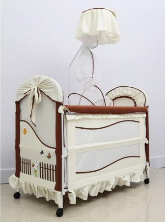 Кровать-трансформер Tommy Cute Life (beige&chocolate/бежевый-шоколад)