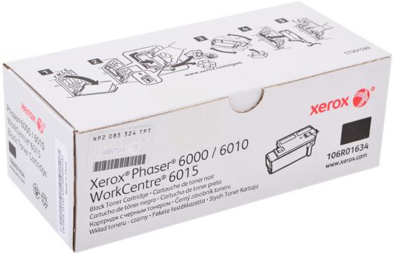 Картридж Sakura 106R01634 для Xerox Phaser 6000 6010 6015 Black Черый 2000стр. SA106R01634