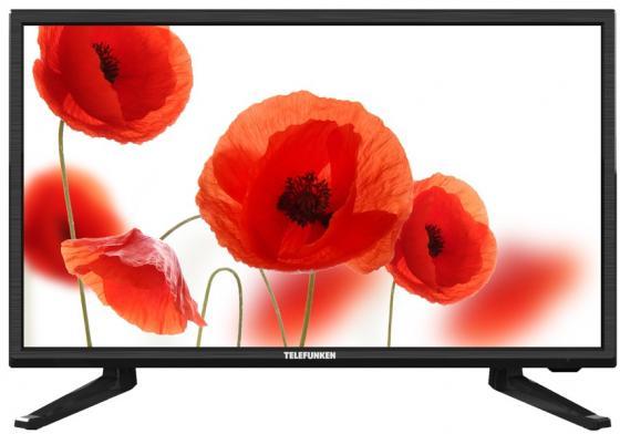 """Телевизор LED 19"""" Telefunken TF-LED19S20T2 черный 1366x768 USB HDMI VGA"""