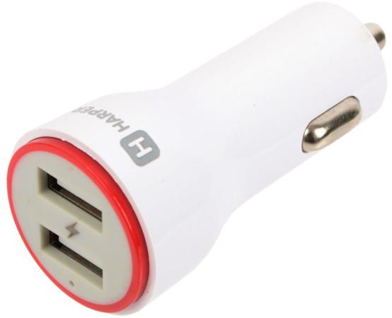 Автомобильное зарядное устройство Harper CCH-6220 2.1A 2 х USB белый виниловая пластинка various artists cutting edge 80s