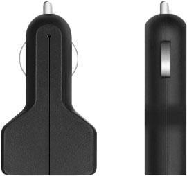 Автомобильное зарядное устройство Prime Line 2211 2.1A 2 х USB черный автомобильное зарядное устройство prime line 2212 2 х usb 2 1a белый