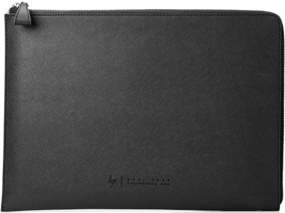 "Чехол для ноутбука 15.6"" HP Spectre кожа черный 1ZX69AA animal чехол для ноутбука boston lapslv17 17 black 1069913"