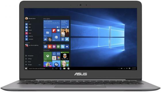 """Ноутбук ASUS Zenbook UX310UA-FC593R 13.3"""" 1920x1080 Intel Core i3-7100U 500 Gb 4Gb Intel HD Graphics 620 серый Windows 10 Professional 90NB0CJ1-M15540"""