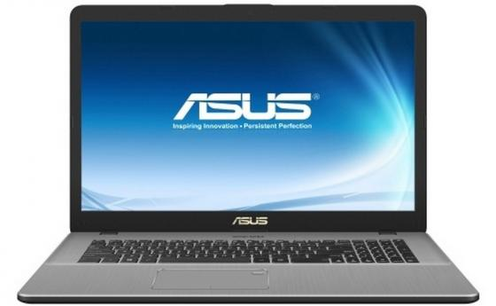Ноутбук ASUS VivoBook Pro 17 N705UD-GC174 17.3 1920x1080 Intel Core i7-8550U 1 Tb 16Gb nVidia GeForce GTX 1050 2048 Мб серый DOS 90NB0GA1-M02570
