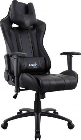 Кресло компьютерное игровое Aerocool AC120 AIR-B черный с перфорацией 4713105968309 цена