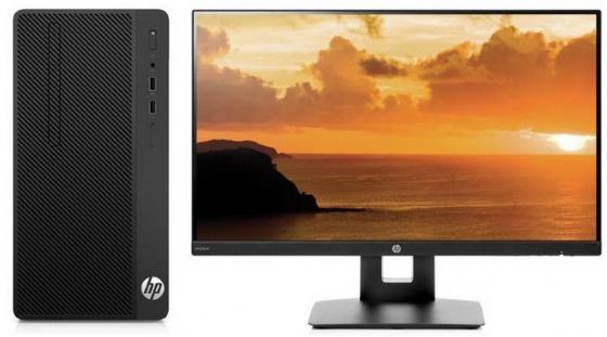 Системный блок HP 290 G1 MT i5-7500 3.4GHz 4Gb 128Gb SSD HD630 DVD-RW Win10Pro черный + монитор VH240a 3EB99ES компьютер hp 290 g1 mt 1qn73ea i3 7100 3 9 4gb 500gb int intel hd 630 dvd rw kb m dos black монитор v214a