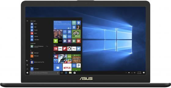 Ноутбук ASUS VivoBook Pro 17 N705UD-GC150T 17.3 1920x1080 Intel Core i7-8550U 1 Tb 128 Gb 12Gb nVidia GeForce GTX 1050 2048 Мб серый Windows 10 90NB0GA1-M02120 ноутбук asus gl552vw i7 6700hq 15 6 1920x1080 intel core i7 6700hq 2 tb 12gb nvidia geforce gtx 960m 2048 мб серый windows 10 90nb09i3 m08520