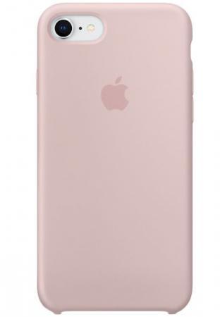 Чехол-накладка Apple Silicone Case для iPhone 8 iPhone 7 розовый песок MQGQ2ZM/A чехол для iphone apple iphone 8 7 silicone case pink sand mqgq2zm a