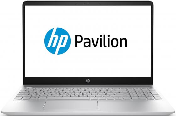 Ноутбук HP Pavilion 15-ck003ur 15.6 1920x1080 Intel Core i5-8250U 1 Tb 4Gb Intel UHD Graphics 620 серебристый Windows 10 Home 2PP66EA sheli laptop motherboard for hp 4720s 633552 001 for intel cpu with non integrated graphics card 100