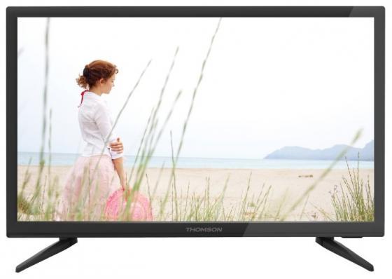 """лучшая цена Телевизор 22"""" Thomson T22FTE1020 черный 1920x1080 50 Гц VGA HDMI USB SCART"""