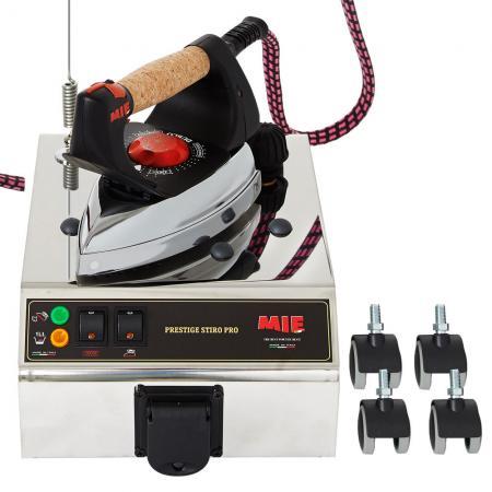 Парогенератор MIE Stiro Pro Inox 1900Вт белый чёрный mie stiro nonstop парогенератор