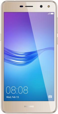 Смартфон Huawei Y5 2017 золотистый 5 16 Гб LTE Wi-Fi GPS 3G 51091PWN смартфон meizu m5 note серебристый 5 5 32 гб lte wi fi gps 3g
