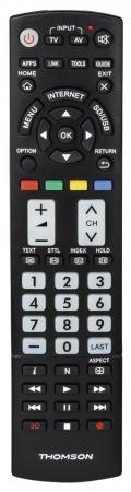 Пульт ДУ Thomson H-132502 универсальный Panasonic TVs черный пульт ду thomson h 132502 универсальный panasonic tvs черный