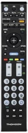 Пульт ДУ Thomson H-132500 универсальный Sony TVs черный пульт ду thomson h 131818 универсальный