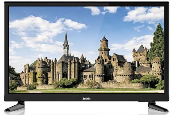 "Телевизор 20"" BBK 20LEM-1046/T2C черный 1366x768 60 Гц VGA HDMI USB"