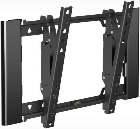 Кронштейн Holder T3929-B черный для ЖК ТВ 22-47 настенный наклон до 25 кг holder lcds 5065 black gloss кронштейн для тв