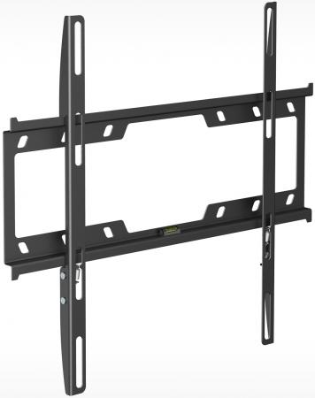 Кронштейн Holder F4614-B черный для ЖК ТВ 32-55 настенный фиксированный до 40 кг holder lcds 5065 black gloss кронштейн для тв