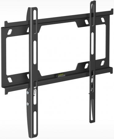 Кронштейн Holder F3616-B черный для ЖК ТВ 22-47 настенный фиксированный до 25 кг holder lcds 5065 black gloss кронштейн для тв