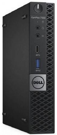 Системный блок DELL Optiplex 7050 Micro i5-6500T 2.5GHz 8Gb 1Tb HD530 DVD-RW Win10Pro клавиатура мышь черный 7050-2592 настольный пк dell optiplex 7050 sff 7050 4360 7050 4360