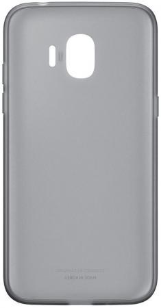 Чехол Samsung для Samsung Galaxy J2 2018 Jelly Cover черный EF-AJ250TBEGRU чехол samsung для samsung galaxy j2 2018 jelly cover голубой ef aj250tlegru