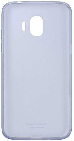 Чехол Samsung для Samsung Galaxy J2 2018 Jelly Cover голубой EF-AJ250TLEGRU смартфон samsung galaxy j2 prime gold