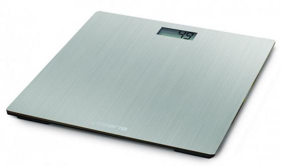 Весы напольные Polaris PWS 1841DM серебристый весы напольные polaris pws 1841dm