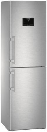 Холодильник Liebherr CNPes 4758 серебристый двухкамерный холодильник liebherr cuwb 3311