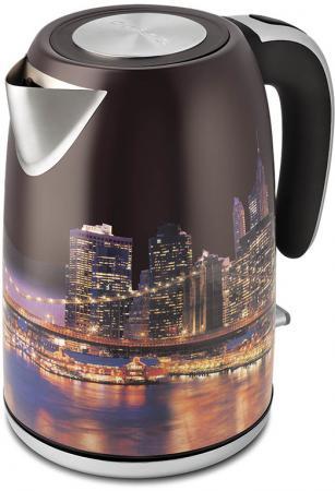 Чайник Polaris PWK 1853CA 2000 Вт рисунок 1.8 л нержавеющая сталь чайник polaris pwk 1793ca 2200 вт серебристый 1 7 л нержавеющая сталь