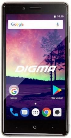 Смартфон Digma VOX S509 3G серебристый 5 16 Гб Wi-Fi GPS 3G VS5032PG планшет digma plane 1601 3g ps1060mg black