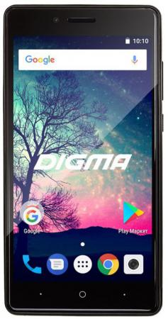 Смартфон Digma VOX S508 3G черный 5 16 Гб Wi-Fi GPS 3G VS5031PG планшет digma plane 1601 3g ps1060mg black