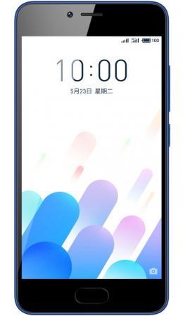 Смартфон Meizu M5c синий 5 32 Гб LTE Wi-Fi GPS 3G M710H_32GB_BLUE смартфон huawei p smart черный 5 65 32 гб nfc lte wi fi gps 3g